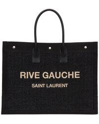 Saint Laurent Cabas noir Rive Gauche East/West Noe