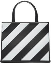 Off-White c/o Virgil Abloh - Black Small Diagonal Box Bag - Lyst