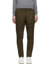 DSquared² - Green Hockney Trousers - Lyst