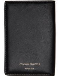 Common Projects ブラック Folio ウォレット