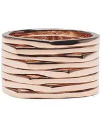 Repossi - Rose Gold 8 Rows Antifer Ring - Lyst