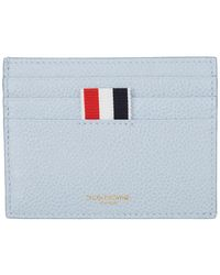Thom Browne - Blue Double Sided Card Holder - Lyst
