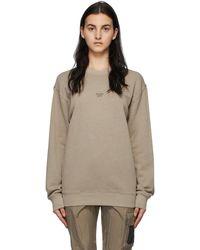 Reebok Brown Natural Dye Classics Sweatshirt