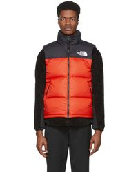 The North Face Veste en duvet rouge 1996 Retro Nuptse - Multicolore
