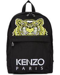 KENZO Black Limited Edition High Summer Tiger Backpack