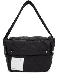 OAMC Black Combat Messenger Bag