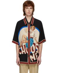 Dolce & Gabbana ブラック Choose Me シャツ