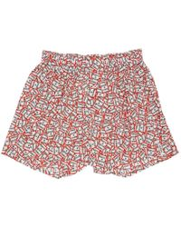 Druthers - Red And White Have A Good Time Boxers - Lyst