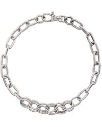 Martine Ali Ssense Exclusive Silver Ashbury Choker - Metallic