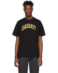 Carhartt WIP ブラック ノーレッジ T シャツ