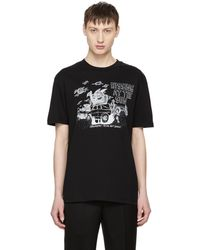 McQ Alexander McQueen | Black Hissing At The Sun T-shirt | Lyst