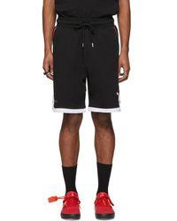 Marcelo Burlon Nba Edition ブラック Chicago Bulls ショーツ