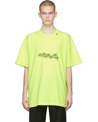 Off-White c/o Virgil Abloh - イエロー 3d Pencil T シャツ - Lyst