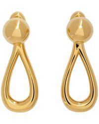 Loewe Gold Drop Earrings - Metallic