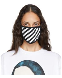 Off-White c/o Virgil Abloh Masque noir Diag