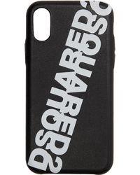 DSquared² - ブラック Ecopelle Iphone Xs ケース - Lyst