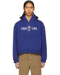 Phipps ブルー Tree Of Life フーディ