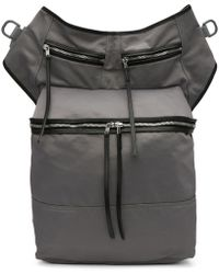 Rick Owens Drkshdw - Grey Techno Trench Messenger Bag - Lyst