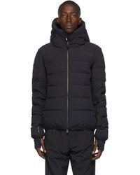 3 MONCLER GRENOBLE Black Down Lagorai Giubbotto Jacket