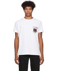Schnayderman's Deli Print T-shirt - White