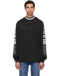 Fear Of God - Black Mesh Motocross Jersey Sweater - Lyst