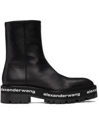 Alexander Wang ブラック Stanford ブーツ