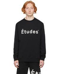 Etudes Studio Black Story Sweatshirt