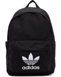 adidas Originals - ブラック Adicolor クラシック バックパック - Lyst