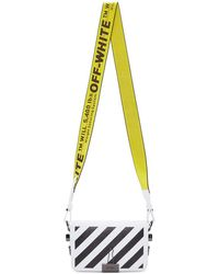 Off-White c/o Virgil Abloh White Mini Diag Flap Bag
