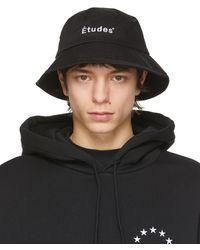 Etudes Studio - ブラック Training バケット ハット - Lyst