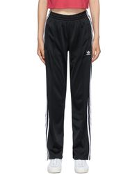 adidas Originals ブラック Firebird トラック パンツ