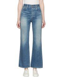 Visvim - Blue Social Sculptress Jeans - Lyst