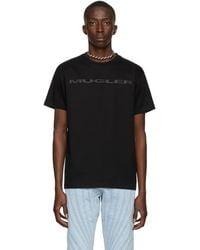 Mugler Interlock T-shirt - Black