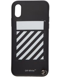 Off-White c/o Virgil Abloh - Black Diag Iphone X Strap Case - Lyst