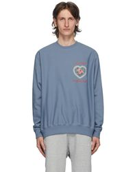 AWAKE NY Blue Awake Is Special Sweatshirt