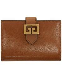 Givenchy タン Gv3 カード ホルダー - ブラウン