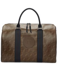 Fendi Brown Forever Travel Duffle Bag