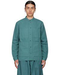Toogood Blue 'the Locksmith' Shirt