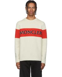 Moncler Genius - 2 Moncler 1952 コレクション ベージュ Maglione Tricot セーター - Lyst