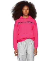Ashley Williams Pink Beach Bum Hoodie
