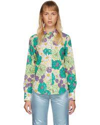 Marc Jacobs - Multicolor Floral Shirt - Lyst