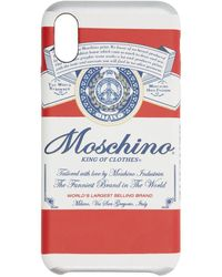 Moschino Budweiser Edition レッド Iphone X/xs ケース - マルチカラー