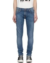 Nudie Jeans - ブルー Tight Terry ジーンズ - Lyst