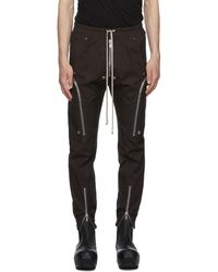 Rick Owens - Ssense Exclusive Black Bauhaus Cargo Pants - Lyst