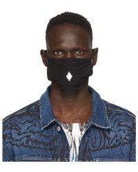 Marcelo Burlon - ブラック クロス フェイス マスク - Lyst