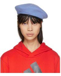 Gosha Rubchinskiy | Blue Stephen Jones Edition Military Beret | Lyst