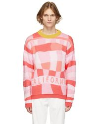 ERL Pink California Sweater