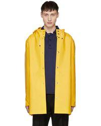 Stutterheim - Yellow Stockholm Raincoat - Lyst