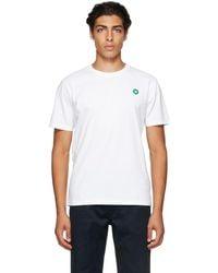 WOOD WOOD T-shirt Ace blanc