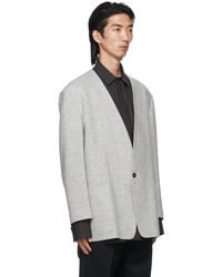 Fear Of God Blouson 'The Everyday Sportscoat' gris
